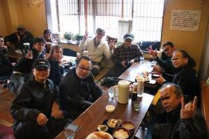 【関東】2/21大衆食堂久留実で満腹!その後なぜかパフェで飽食、食い倒れツーリング!