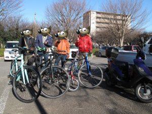 【千葉】GN倶楽部自転車同好会 新年手賀沼サイクリング